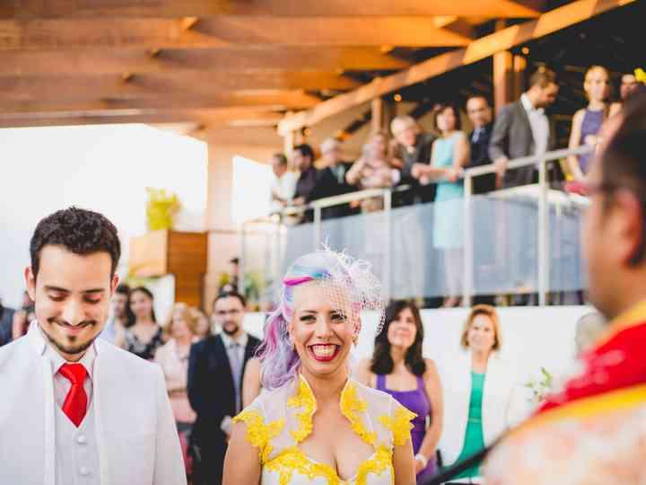 O casamento de Nicole e Caio
