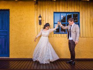 O casamento de Rafaela e Marcelo