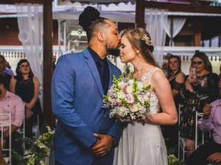 O casamento de Barbara e Wesley