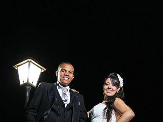 O casamento de Carina e Célio
