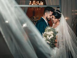 O casamento de Salomé e Dezan