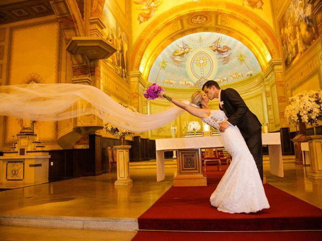 O casamento de Micheli e Anderson