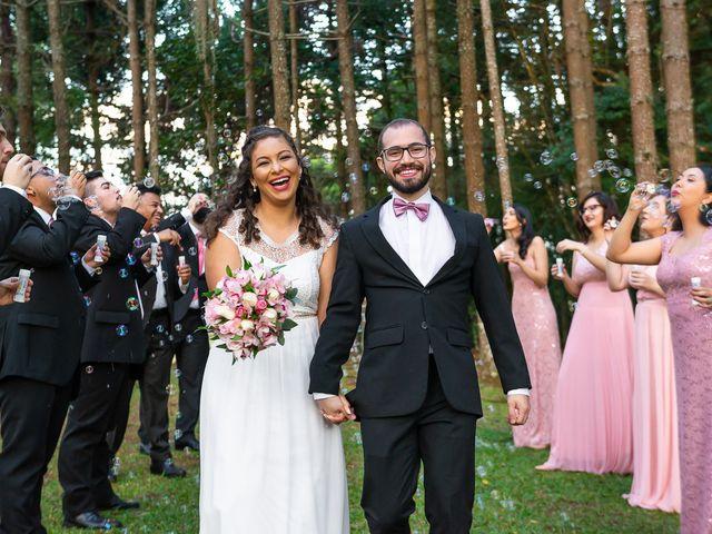 O casamento de Louise e Misael
