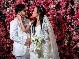 O casamento de Marcia e Bruno