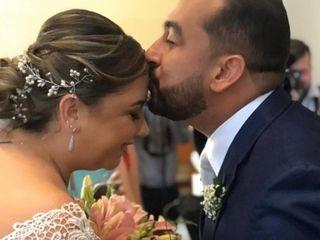 O casamento de Maria Dorotea e Maurício