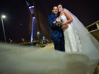 O casamento de Letícia e Junior