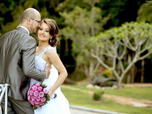 O casamento de Charliza e Fabio