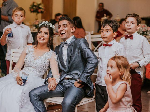 O casamento de Jhennyfer e Gabriel