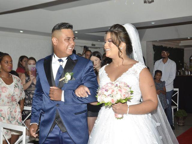 O casamento de Sthefani e Arnold