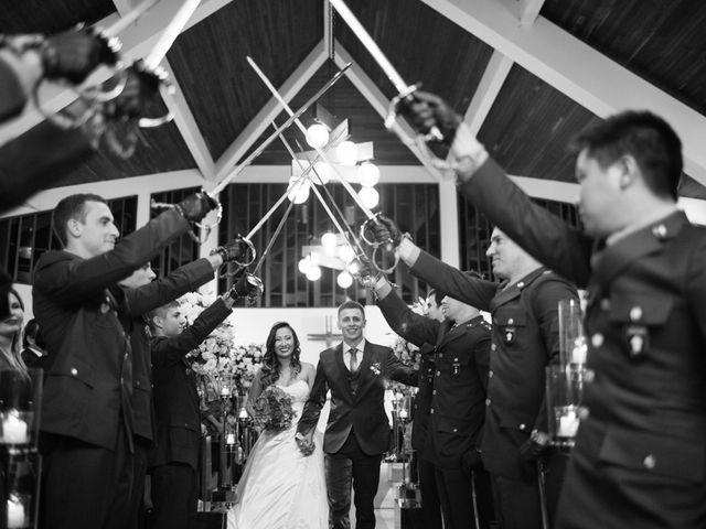 O casamento de Aline e Gregori
