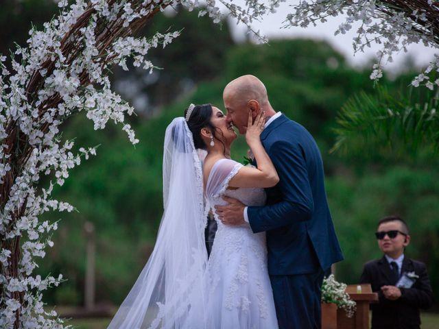 O casamento de Alessandra e Luciano
