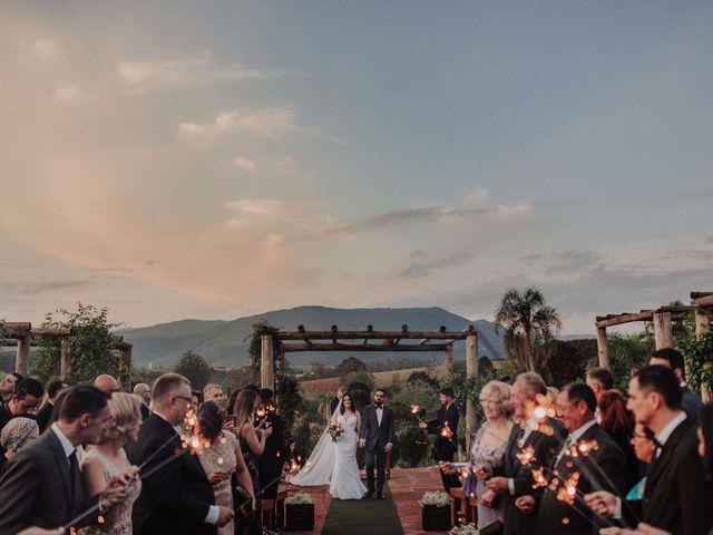 O casamento de Vivian e Matheus