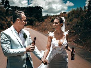 O casamento de Marcella e Tércio