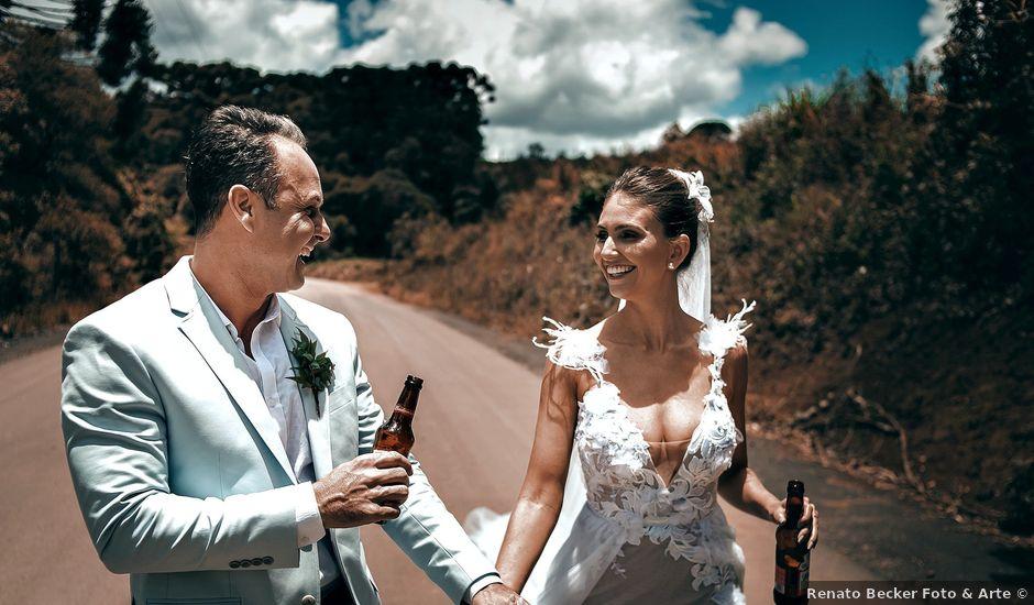 O casamento de Tércio e Marcella em Curitiba, Paraná