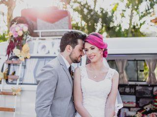 O casamento de Camila e Uly