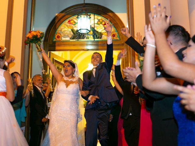 O casamento de Carla e Lucas