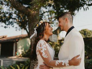 O casamento de Roberta  e Jander
