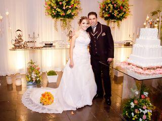 O casamento de Verônica e Leandro