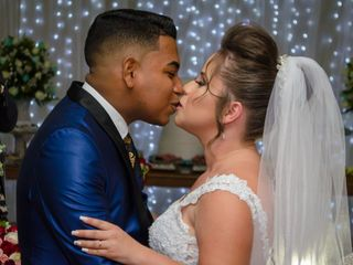 O casamento de Queiline e Vitor