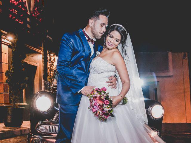 O casamento de Cinthia e Alan