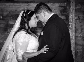 O casamento de Denise e Abraão