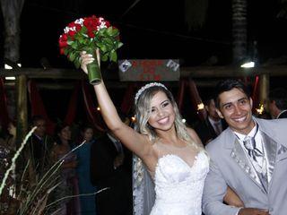 O casamento de Daniele e Victor