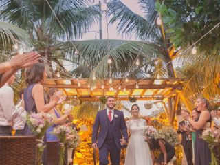 O casamento de Lais e Mauricio