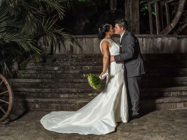 O casamento de Viviane e Jean