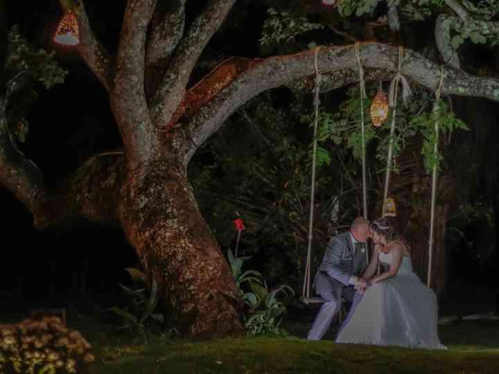 O casamento de Lia e Geovani