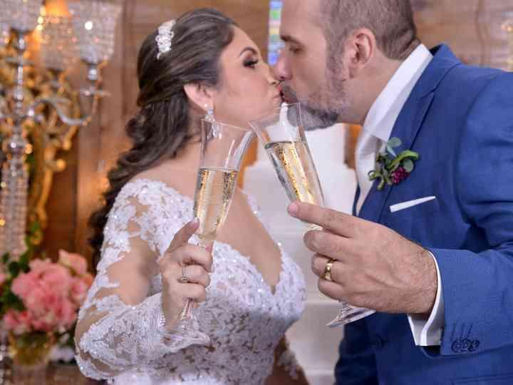 O casamento de Carla e Paulo