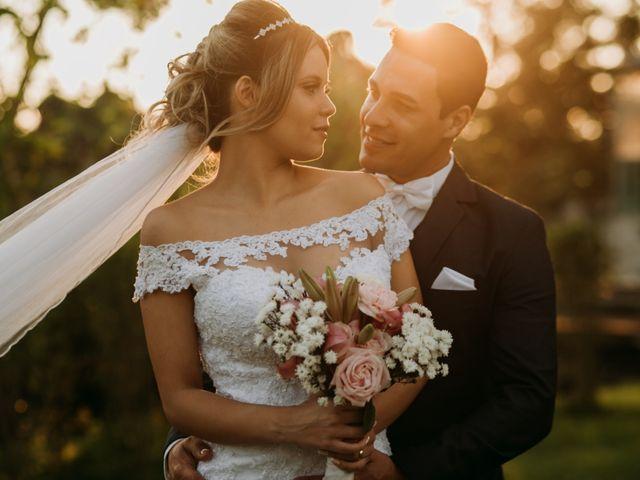 O casamento de Camila e Rogério