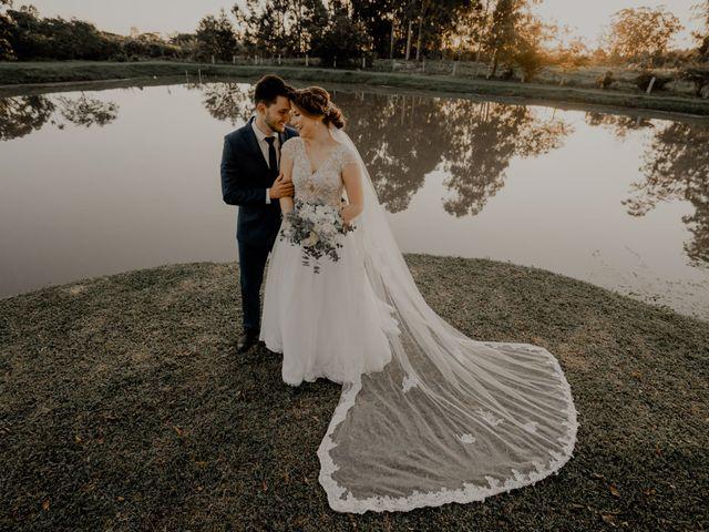 O casamento de Viviane e Renan