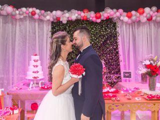 O casamento de Andressa e Caio