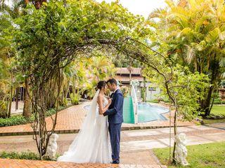 O casamento de Ananda e Ben