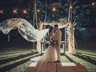 O casamento de Nanda e Cadu