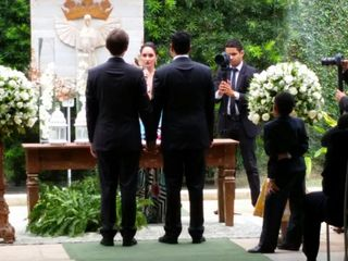 O casamento de Bruno e Júlio