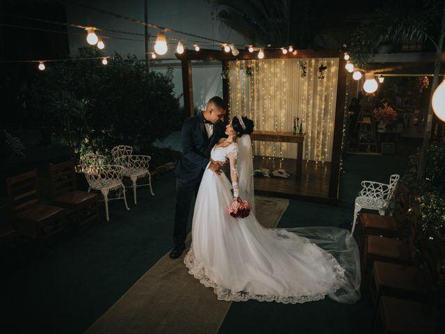 O casamento de Grasi e Brenner