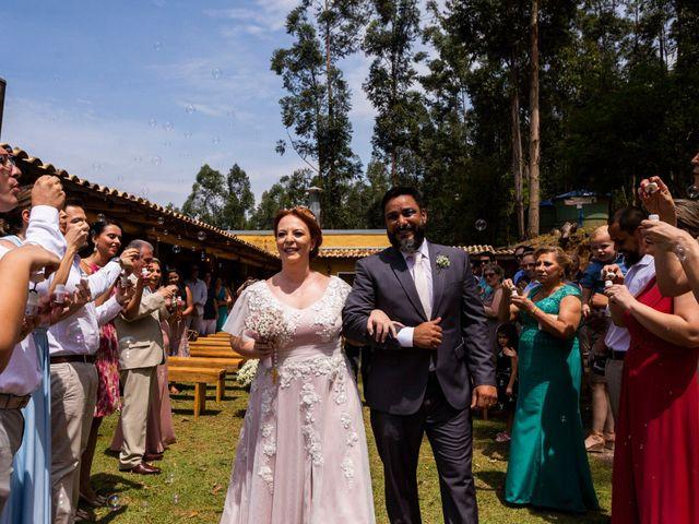 O casamento de Nádia e Cristiano