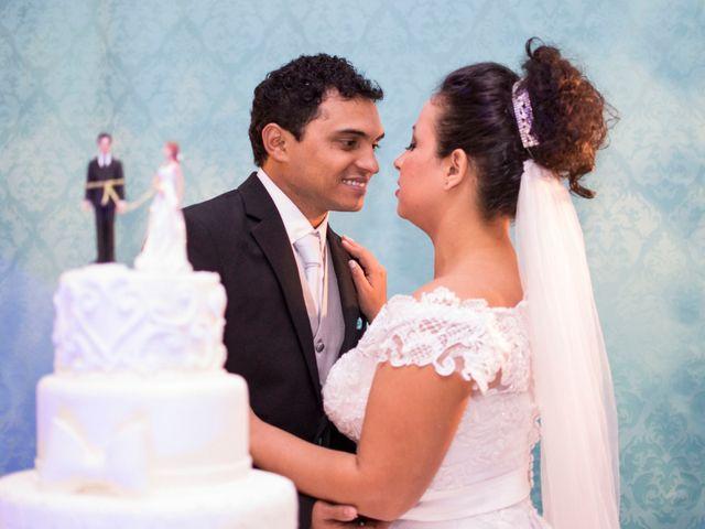 O casamento de Gisele e Thiago