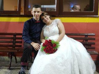 O casamento de Larissa e Abner