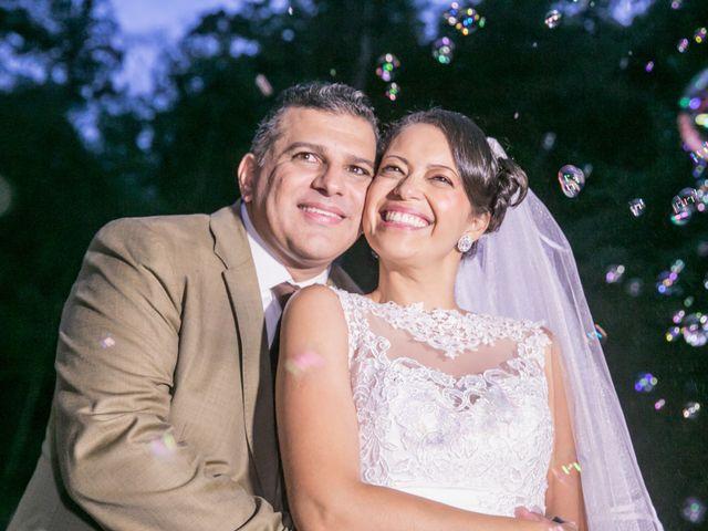 O casamento de Carol e Robson