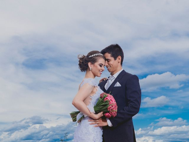 O casamento de Erika e Victor