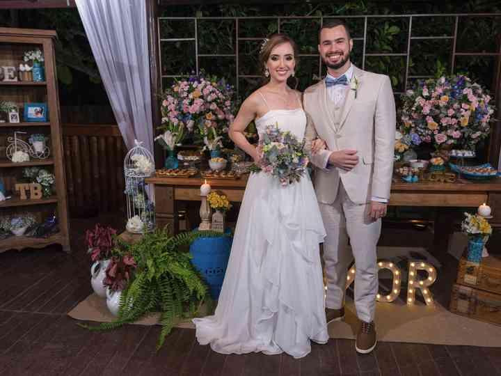 O casamento de Brunella e Thiago