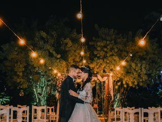 O casamento de Fagner e Luana