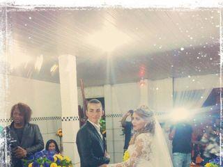 O casamento de Andréa e Winkler