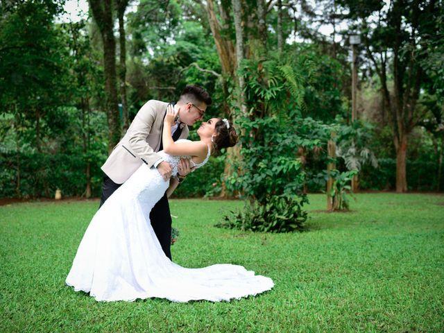 O casamento de Fran e Lucas