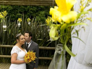 O casamento de Andrea e Miguel