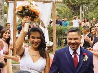 O casamento de Camila e Jovenisio