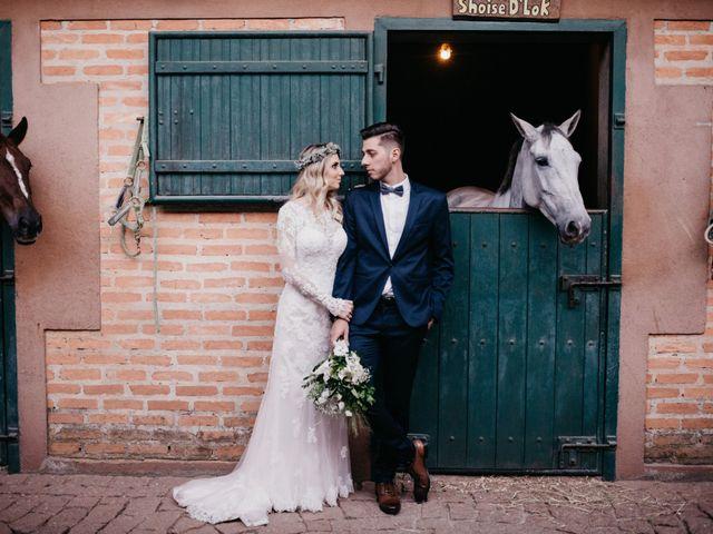 O casamento de Héllen e Bruno