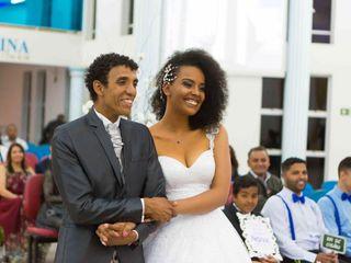 O casamento de Talita e Willis